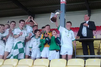 O'Loughlin Gaels are crowned Feile champions
