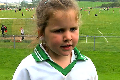 Orla Curran from Downpatrick