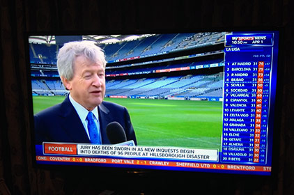 GAA Director General, Paraic Duffy on Sky News after the announcement