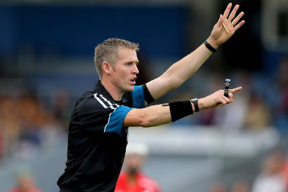 Camogie referee Ray Kelly