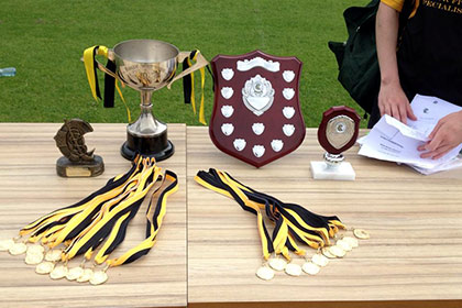 There is both a cup and shield competition and all teams are welcome to enter.