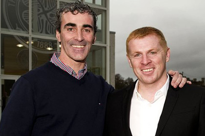 Jim McGuinness with Neil Lennon