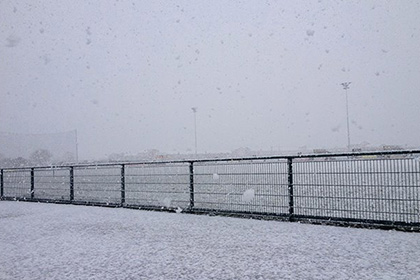 Heavy snowfall forced last Sundays fixture at Ashbourne to be abandoned.