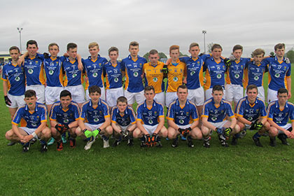 The Wicklow squad that took on Meath in the Gerry Reilly Cup at Millbrook.