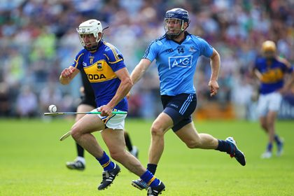 Tipperary&#39;s Patrick Maher and Conal Keaney of Dublin<br />&#169;INPHO